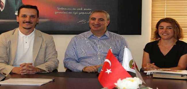 Büyükelçi'den Antalya Gazeteciler Cemiyeti'ne ziyaret