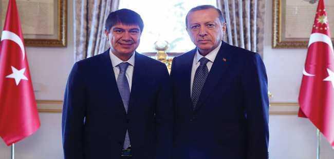 Türel, Cumhurbaşkanı Erdoğan ile görüştü