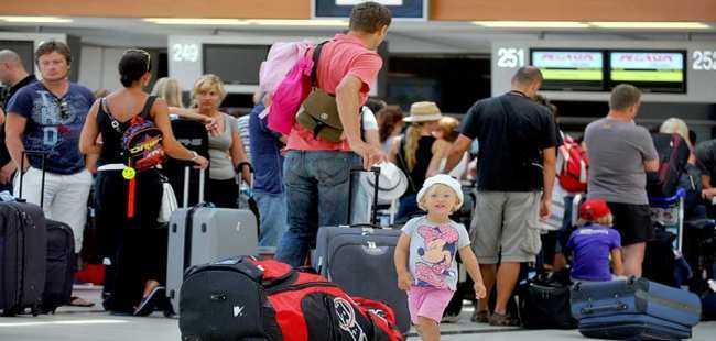 Turist sayısı arttı gelir düştü