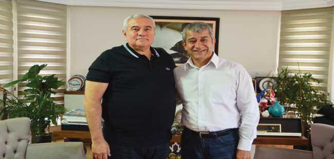 Başkan Çetin'den MYGazete'ye ziyaret