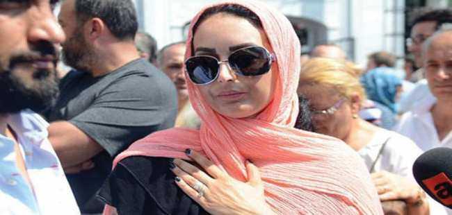 Dora Ercan Şaşmaz'ın cenazesine katıldı