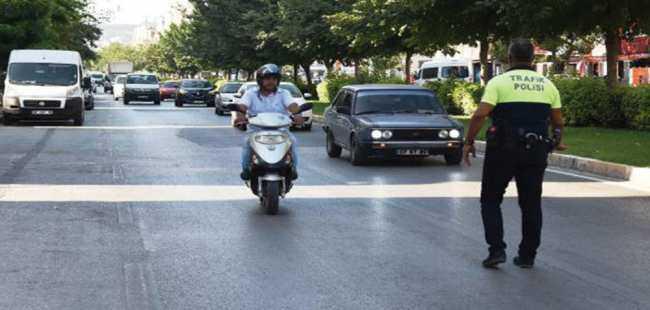 Antalya'da ceza yağdı