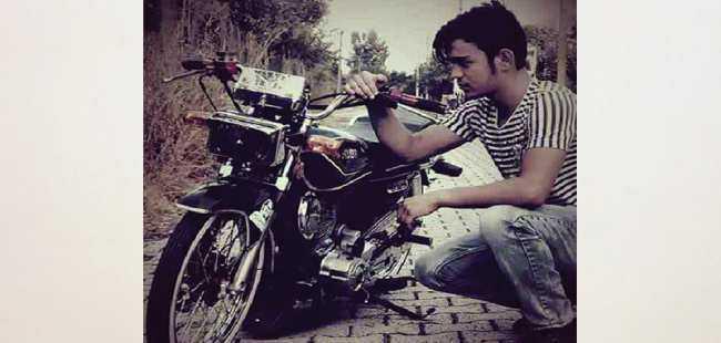 Motosikletli genç hayatını kaybetti