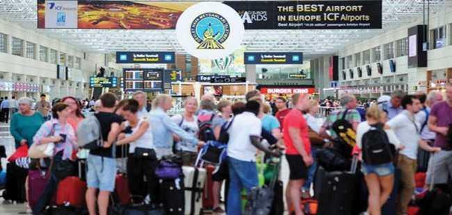 Turist sayısı 8 milyona yaklaştı