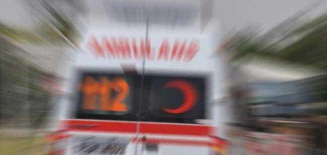 Bursa'da midibüs otomobille çarpıştı