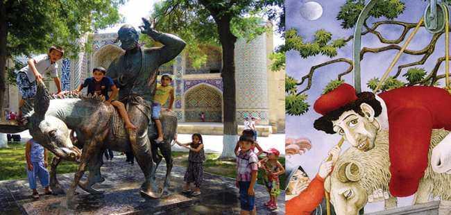 Nasreddin Hoca Sicilya'da ortaya çıktı!