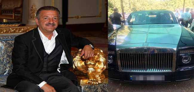 Milyarder iş adamının oğluna ait otomobile haciz konuldu