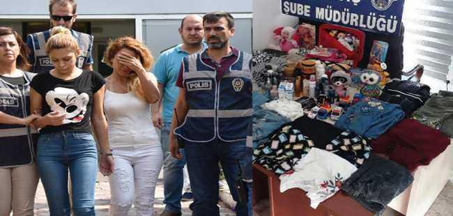 Antalya'da yakalandılar