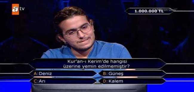 1 milyonluk soru