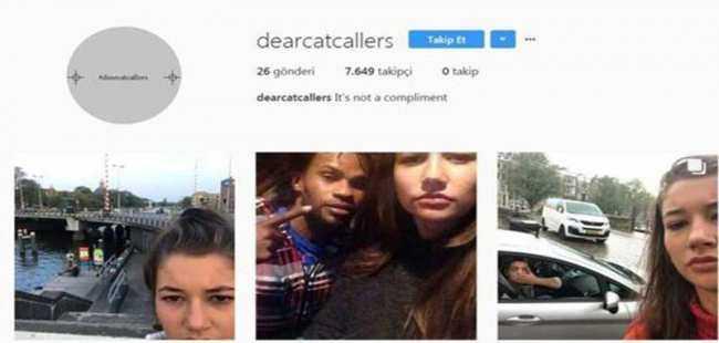 Tacizcileri Instagram'da teşhir ediyor