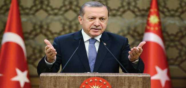 Cumhurbaşkanı Erdoğan'dan sert mesaj