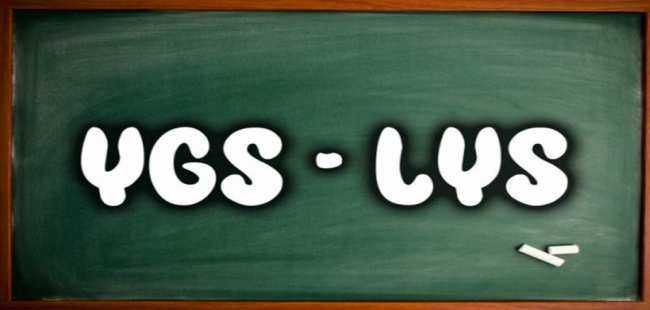 YGS-LYS ayrımı kaldırıldı