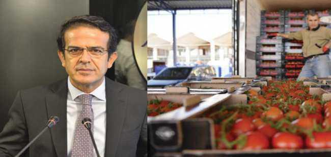Başkan Çandır'dan domates açıklaması