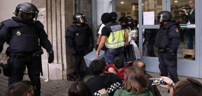 İspanya'da referandum gerilimi