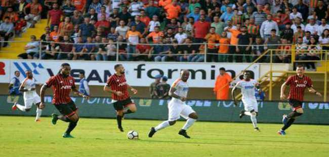 Aytemiz Alanyaspor'dan gol bombardımanı