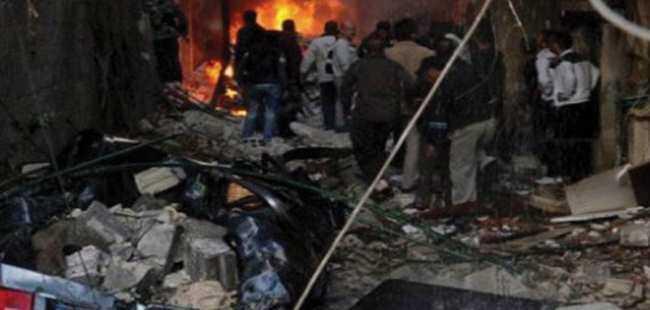 Şam'da ikiz intihar saldırısı!