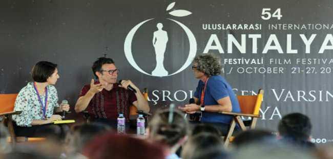 Ünlü yönetmenler soruları yanıtladı