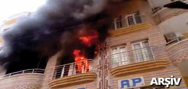 Ankara'da yangın faciası