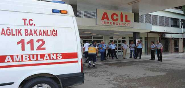 Denizli'de 37 işçi hastaneye kaldırıldı
