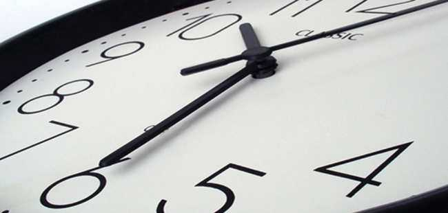 'Şu an saat kaç?