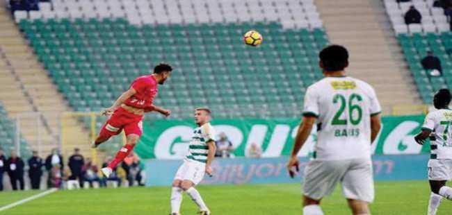 Antalyaspor deplasmanda farklı mağlup