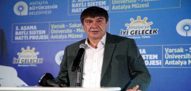 Başkan Türel Raylı Sistem Projesi'ni anlattı