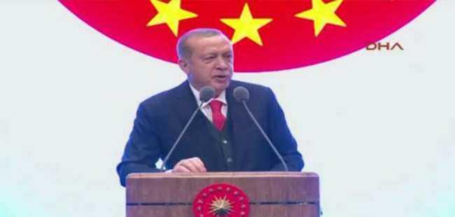 Cumhurbaşkanı Erdoğan dev projeyi açıkladı