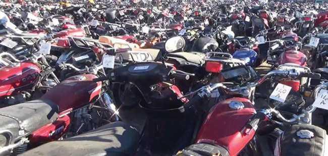 Şanlıurfa'da motosiklet operasonu