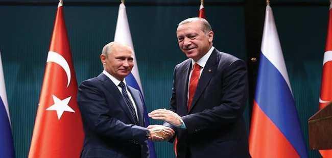 Erdoğan Putin ile Kudüs'ü görüştü