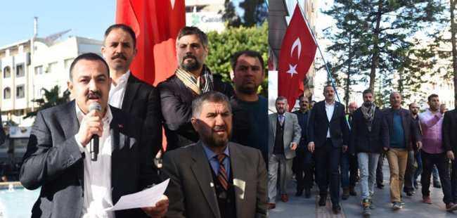 Antalya'da AK Parti'den Kudüs kararına tepki