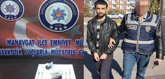 Antalya'da uyuşturucu ele geçirildi
