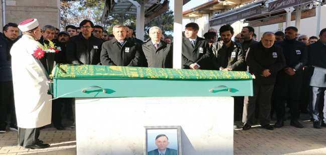 Muharrem Tuncel son yolcuğuna uğurlandı