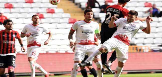 Antalyaspor Orhangazi Belediyespor'a yenildi