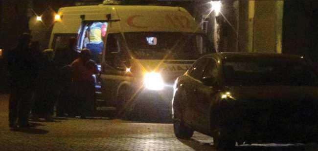 Gaziantep'te eve kalaşnikoflu saldırı
