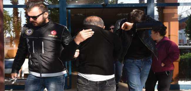 Antalya'da uyuşturucu operasyon