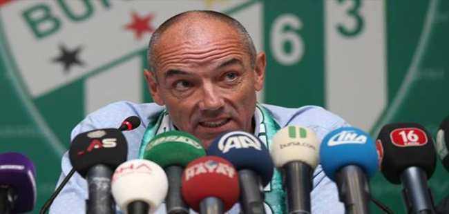 Bursaspor Teknik Direktörü Paul Le Guen hastanelik oldu