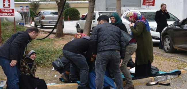 İntihar eden teröristin cenazesi ailesi aldı