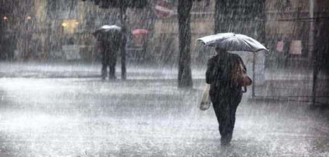 Meteoroloji'den  7 ile yağmur uyarısı