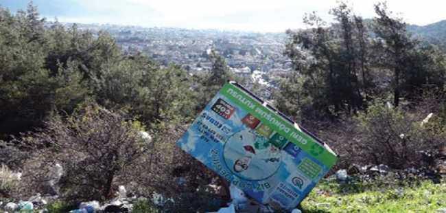Turizm cennetinde çöp skandalı