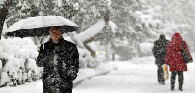 Meteoroloji kar yağışı uyarısında bulundu