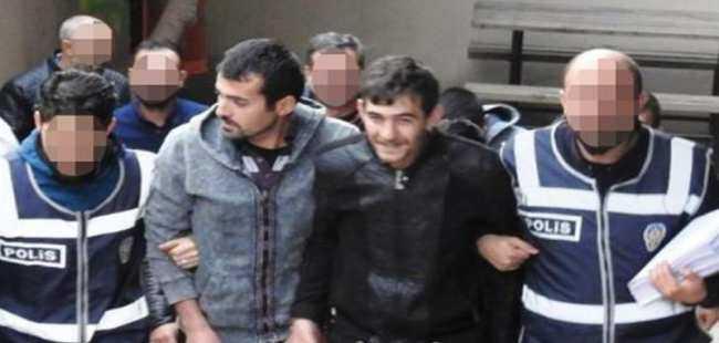Antalya'da akü hırsızları yakalandı