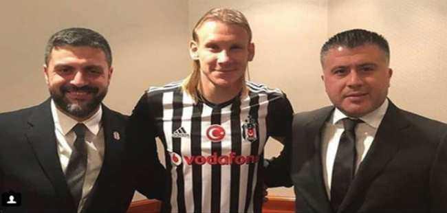 Vida Beşiktaş formasını giydi