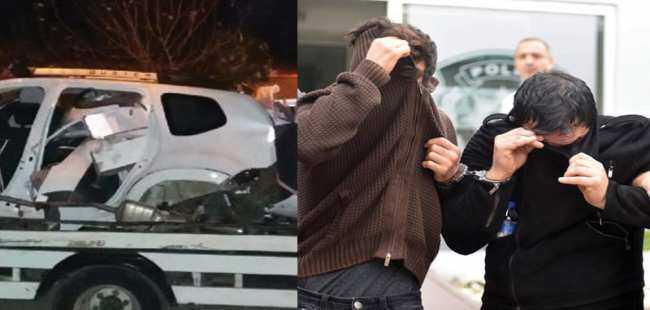 Antalya'da araba hırsızları yakalandı