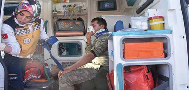 Kars'ta 7 asker yaralandı