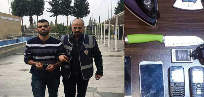 Antalya'da hırsız yakalandı