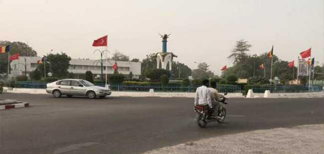 Erdoğan'ın ziyareti öncesinde sokaklar süslendi