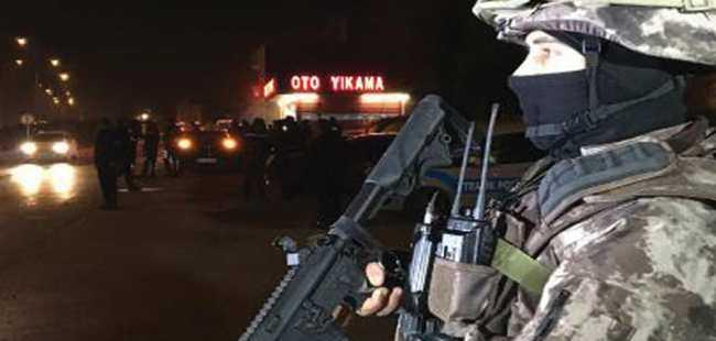 Bursa'da 'huzur operasyonu'