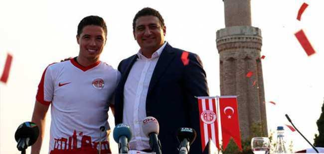 Antalyaspor'da Samir Nasri şoku