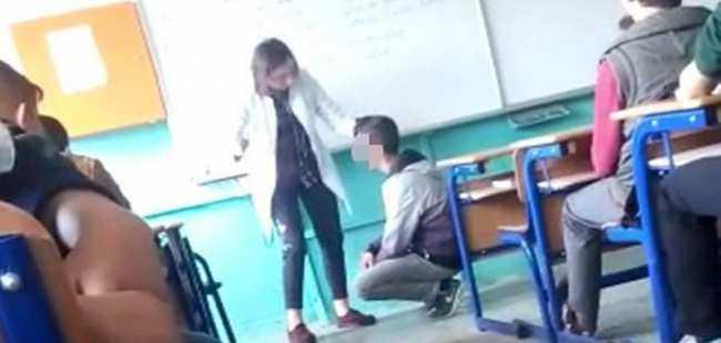 Öğrencisini döven öğretmen hakkında flaş karar