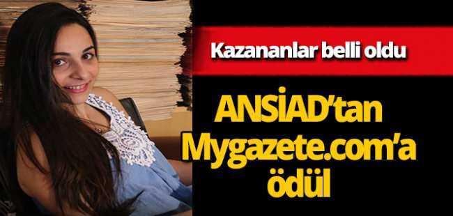 ANSİAD'tan Mygazete.com'a ödül